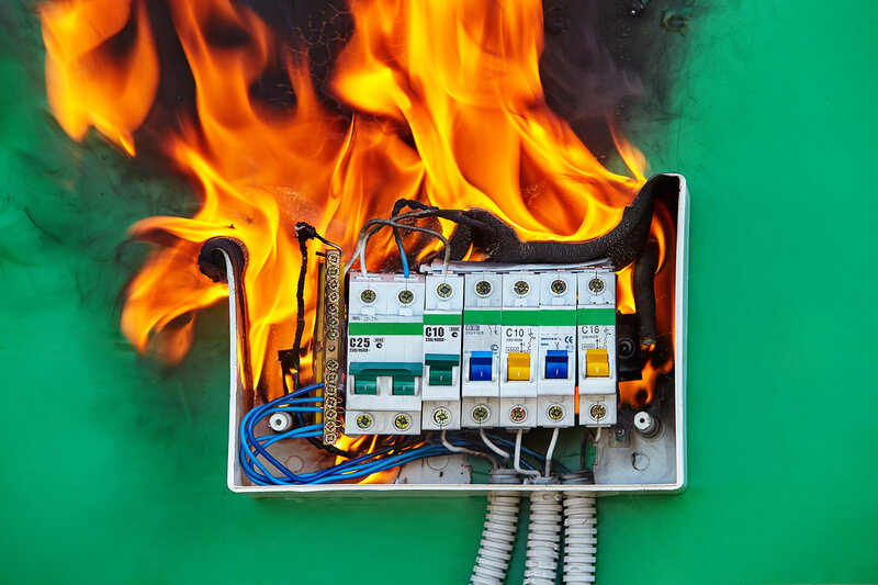 Home Inspection San Antonio Fire Hazard
